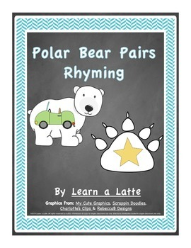 Polar Bear Pairs Rhyming