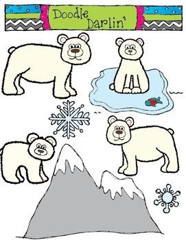 Polar Bear Palooza COLOR Set