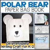 Polar Bear Craft and Writing Activity