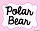 Polar Bear & Penguin Valentine Bag Templates