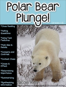 Polar Bear Plunge! (A Non-Fiction Reading Strategies Unit for Grades 1-3)