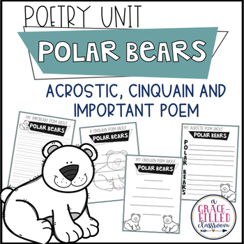 Polar Bear Poetry | Winter Poetry | January Poetry