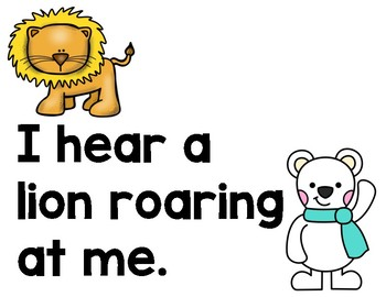 Polar Bear, Polar Bear Mentor Sentence