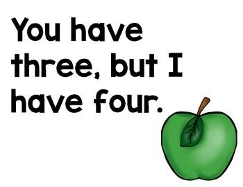 Ten Apples Up On Top Mentor Sentence