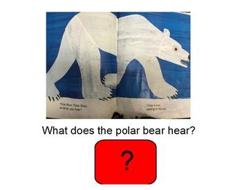 Polar Bear, Polar Bear, What Do You Hear? SMARTboard