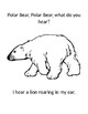 Polar Bear Polar Bear What Do You Hear Adapted Book