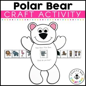 Polar Bear, Polar Bear, What Do You Hear? Cut and Paste