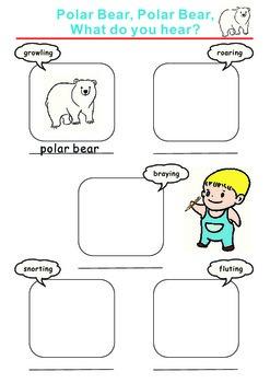 Polar Bear, Polar Bear, What Do You Hear? Identify the Sound Activity