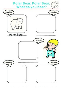 Polar Bear, Polar Bear, What Do You Hear? Identify the Sou