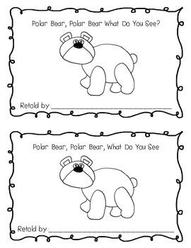Polar Bear, Polar Bear, What Do You Hear? Literacy and Math Extension Activities