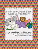 Polar Bear, Polar Bear, What Do You Hear? {Storytime Activities}