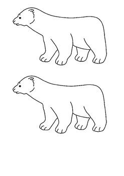 Polar Bear, Polar Bear, What Do You Hear Word Search