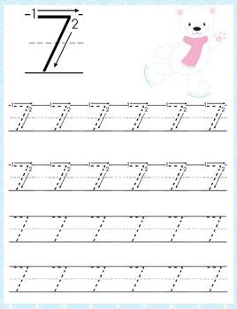 Polar Bear PreK Handwriting Pack