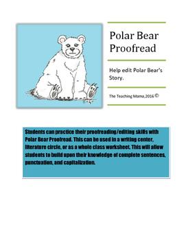 Polar Bear Proofread