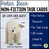 Web Quest: QR Code Polar Bears Nonfiction Centers Activity