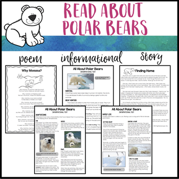 Polar Bear: Reading and Writing Bundle