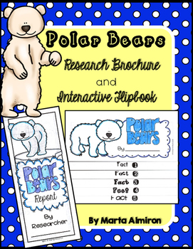Polar Bear Research Brochure, Flipbook, and More
