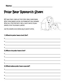 Polar Bear Research Page