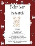 Polar Bear Research Writing Lesson Plans