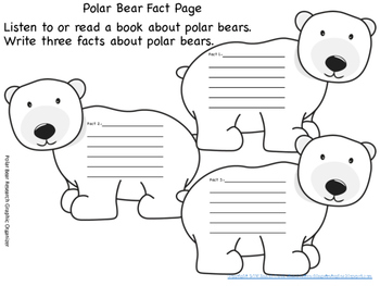 Polar Bear Research and Writing Packet