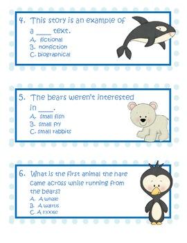 Polar Bear Scare Comprehension Activities
