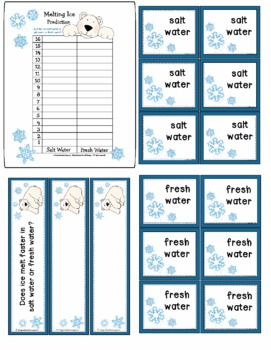 Polar Bear Science Learning Center, Observation & Experiment, Freebie