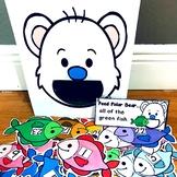 "Polar Bear Sensory Bin Activities:  ""Feed Polar Bear"""