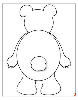 Polar Bear Cut-Out Book (Primary Lines & Bonus Movable, Hinged Polar Bear)