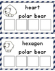 Polar Bear Shape Sorting
