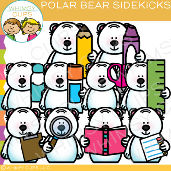 Sidekicks Polar Bear Clip Art