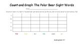 Polar Bear Sight Words Graphing