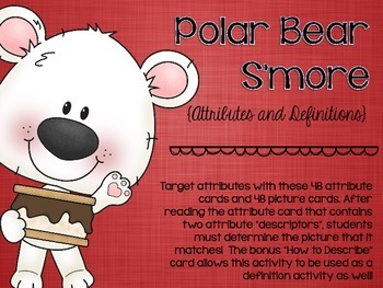 Polar Bear S'more Attributes and Definitions