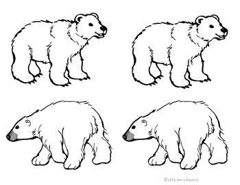 Polar Bear Snow Globe Art