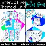 Polar Bear Speech Therapy Activities: Interactive Winter A
