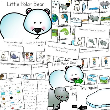 Polar Bear Story Time: Visual Supports and Comprehension Questions