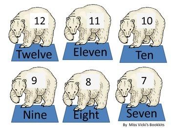 Polar Bear Subtraction  Dice Game