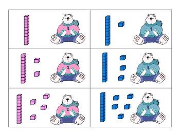 Polar Bear Tens and Ones