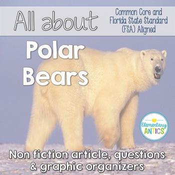 Polar Bear FSA & CCSS Reading and Language/Editing Practice