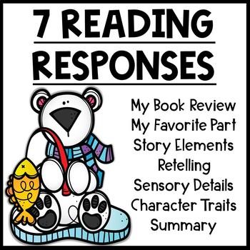 Polar Bear Themed Reading Response Worksheets