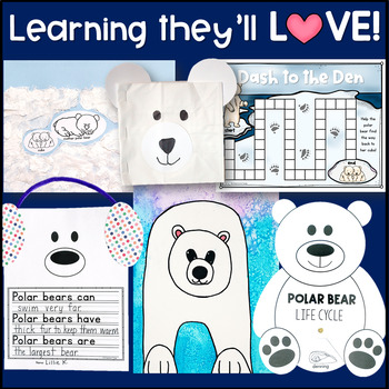 Polar Bear Unit for Kindergarten and First Grade