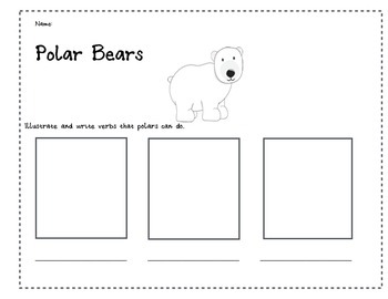 Polar Bear Verbs