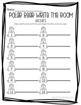Polar Bear Write the Room