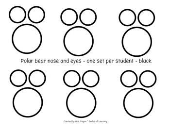 Polar Bear Writing Craftivity - Ice Bear