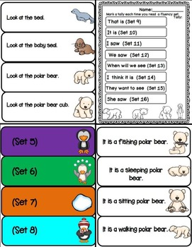 Polar Bear and Friends (Fluency Practice with Predictable Sentences)