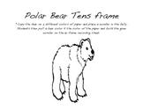 Polar Bear ten frame