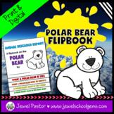 Winter Science Activities (Polar Bear Research Flipbook)