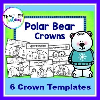 Polar Bears Craft CROWNS