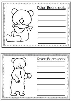 Arctic Animals Activities: Polar Bear Science Activity
