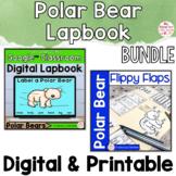 Polar Bears Activities Interactive Notebook Digital and Pr