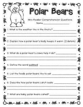 Polar Bears! An Integrated ELA and Science Book Study